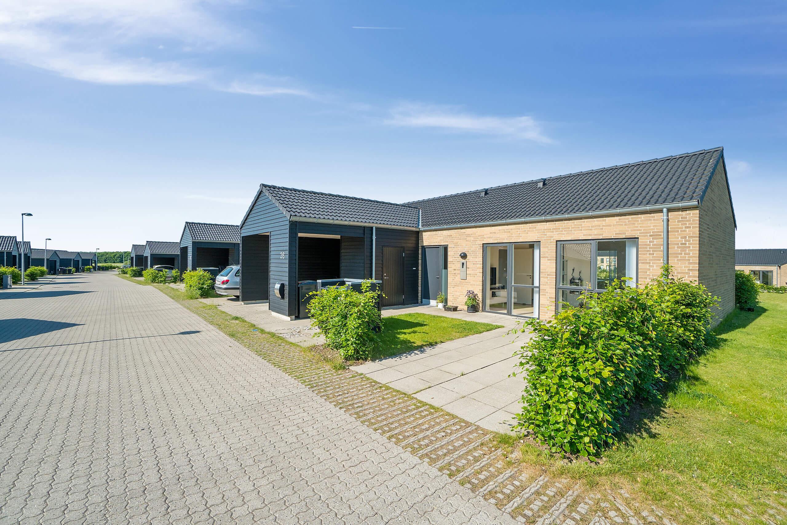 Heimstaden lejeboliger på Halmstadvej i Silkeborg