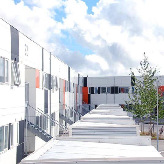 Kollegiet Noden Roskilde studiebolig ungdomsbolig Heimstaden