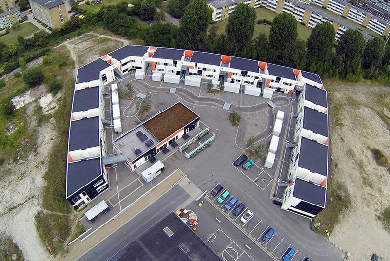 Kollegiet Noden Roskilde ungdomsbolig studiebolig Heimstaden